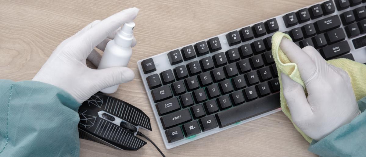 SARS-CoV-2-Arbeitsschutzregel fordert eine erhöhte Reinigungsfrequenz von allen Oberflächen, die in Kontakt mit Beschäftigten kommen