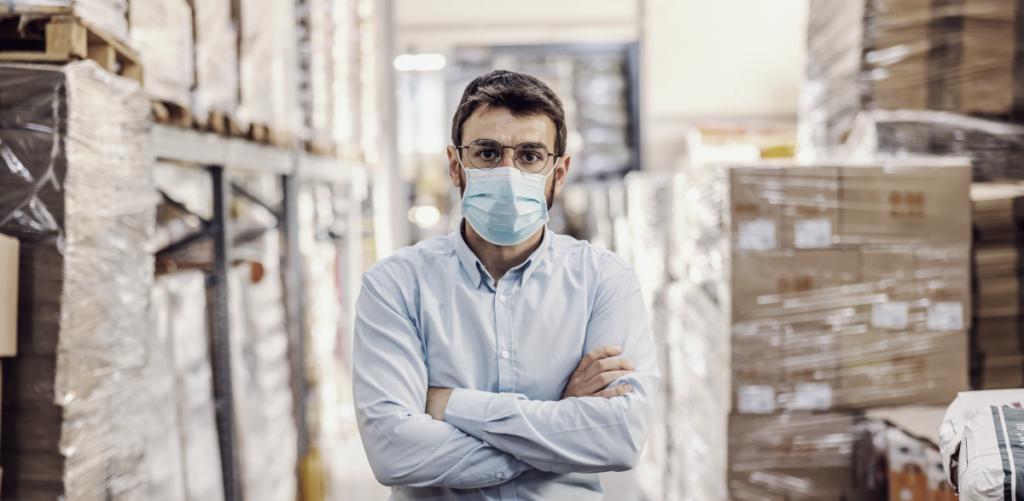 SARS_CoV-2-Arbeitsschutzstandard fordert medizinische Gesichtsmasken